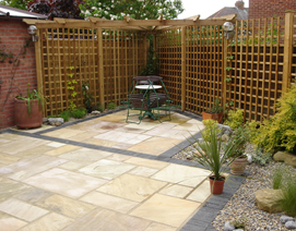 York patio design and construction waterdale landscapes for Gardening jobs manchester