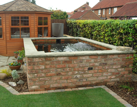 Ponds and Water Feature Design in York
